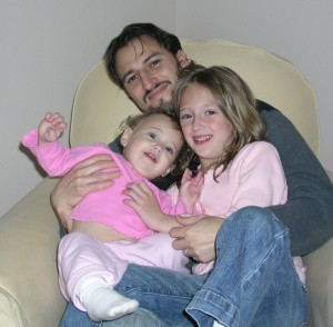 This father and his girls in 2007